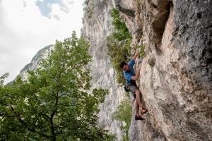Falesia Sulfuria, Climber Matteo Plebani-Ph_Giovanni Carotti