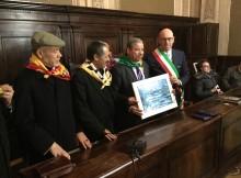 Il sindaco e la delegazione Ugtt