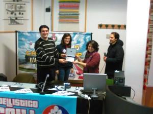 La premiazione al Liceo Mazzatinti