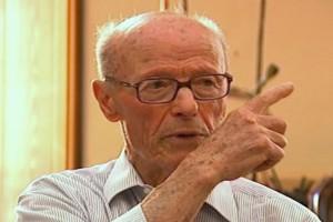 """Antonio Morena, uno dei presidenti onorari dell'Anpi """"25 marzo"""""""