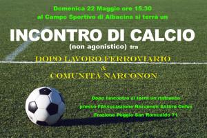 Incontro calcio 22.05.16