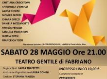 Riflessi dal cielo, Sabato 28 maggio al Teatro Gentile, Fabriano.