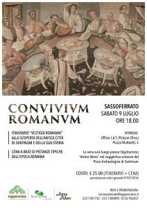 Locandina Convivium Romanum