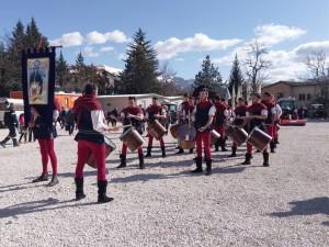 tamburini fossato a Norcia